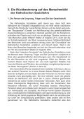 Die Katholische Soziallehre und die Reform des Sozialstaates - BKU - Page 7