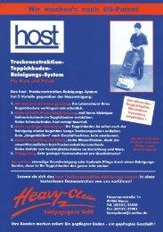 'l'rockenextraktion - Heavy Clean Reinigungsagentur GmbH
