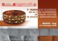 european congress on in vitro maturation of human - Istituti Clinici ...