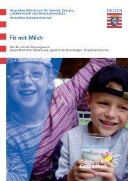 Fit mit Milch - Schule & Gesundheit - Hessen