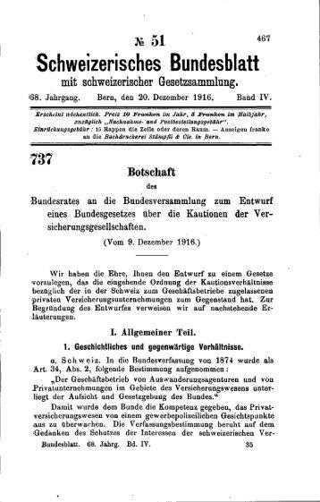 Botschaft - Prof. Dr. iur. Stephan Fuhrer
