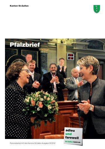 Pfalzbrief Nr. 02/2012 (2502 kb, PDF) - Kanton St.Gallen