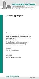 Broschüre laden (pdf) - Haus der Technik