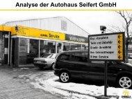 Autohaus Seifert - Gymnasium Puchheim