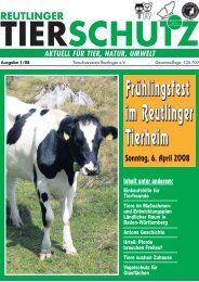 Download jetzt... - Tierschutzverein Reutlingen eV