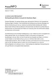 2012_11_27_Ja ist denn schon Weihnachten - Sparkasse Allgäu