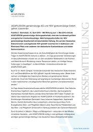 Pressemitteilung AGAPLESION HDV - Hessischer Diakonieverein e.V.