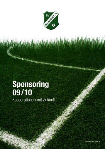 Sponsoring 09/10 - SV Raika Neumarkt an der Ybbs
