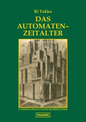 DAS AUTOMATEN– ZEITALTER - Shayol Verlag
