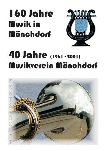 Festschrift Musikverein Rahmen.FH7 - Musikverein Mönchdorf