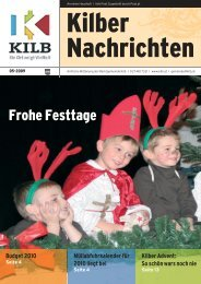Frohe Festtage - Gemeinde Kilb