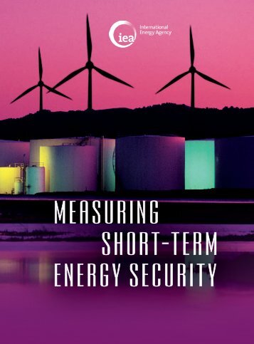 Measuring Short-Term Energy Security - IEA