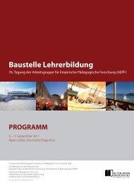 Baustelle Lehrerbildung - Institut für Unterrichts- und ...