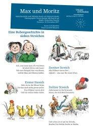 Eine Bubengeschichte in sieben Streichen - Volksoper Wien