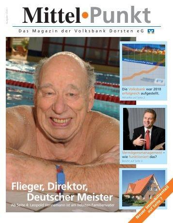 Ausgabe 1/2011 - Volksbank Dorsten eG