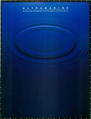 Brochure - Ultramarine