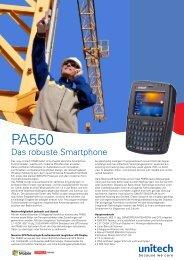 Unitech PA550 - Opalgmbh.at