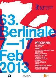 Programme brochure - Berlinale