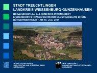 Präsentation Moser + Ziegelbauer - Stadt Treuchtlingen