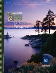 14th International Conference Program - University of Nevada, Reno