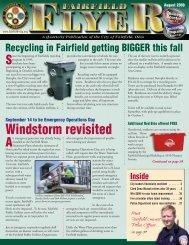 August - The City of Fairfield Ohio