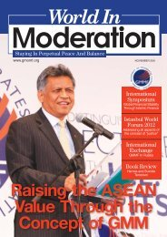 November - Global Movement of Moderates - GMM