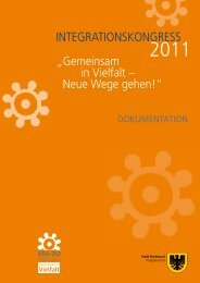 Dokumentation Integrationskongress 2011 [pdf, 1,8 MB] - Dortmund