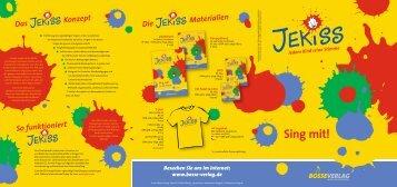 JEKISS-Prospekt - Bosse-Verlag