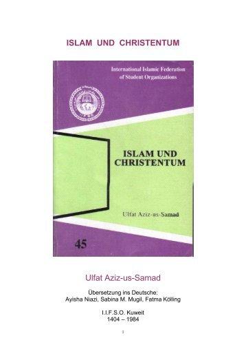 ISLAM UND CHRISTENTUM - Way to Allah