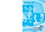 Jahresbericht des SIG 2008 - Schweizerischer Israelitischer ...