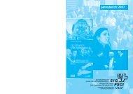 Jahresbericht des SIG 2007 - Schweizerischer Israelitischer ...