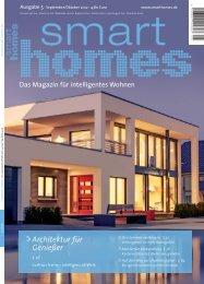 Architektur für Genießer - Smart Homes