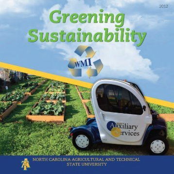 Greening Sustainability Brochure - North Carolina A&T State ...