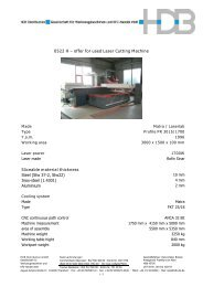 0522 H – offer for used Laser Cutting Machine Sliceable material ...