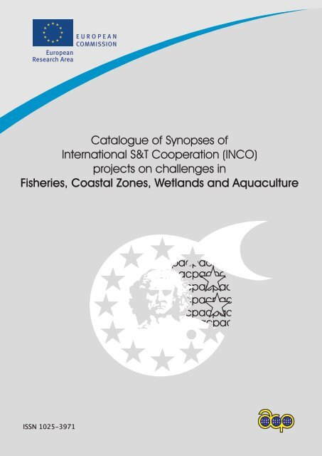 Catalogue Of Synopses Of International S T Cooperation