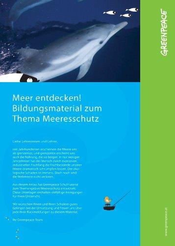 Meere entdecken, 2012 - Greenpeace