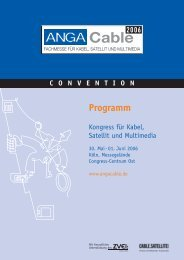 ANGA Cable_Programm_dt - Digitalfernsehen