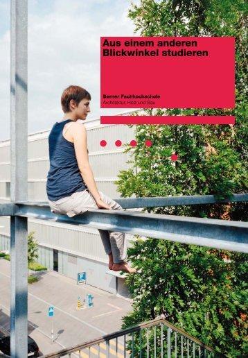 Die Schule (PDF) - AHB - Berner Fachhochschule