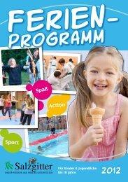 Ferienprogramm 2012 - Stadt Salzgitter