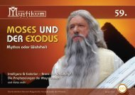 MOSES UND DER EXODUS - Mystikum