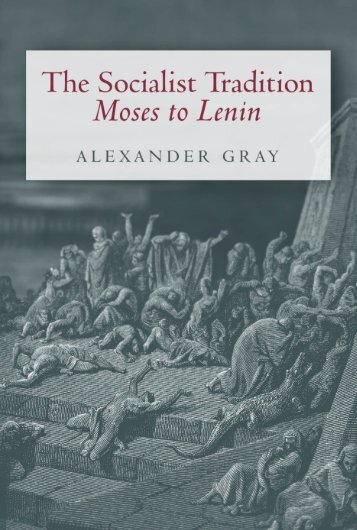 The Socialist Tradition - Ludwig von Mises Institute