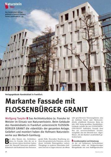Download (PDF) - Hofmann Naturstein