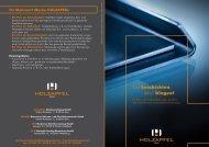 FleXXKorr: biegefähige Zink-Nickel-Beschichtung - Holzapfel Group