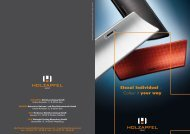 Eloxal Individual –  Colour it your way - Holzapfel Group