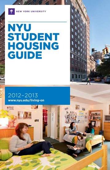 NYU StUdeNt HoUSiNg gUide - New York University