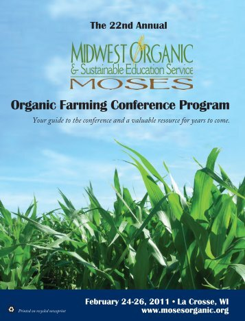 Organic Farming Conference Program - GoodFood World