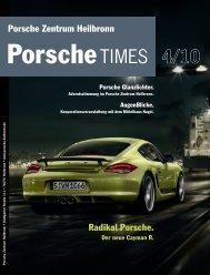 PorscheTimes Vorlagedokument - Porsche Zentrum Heilbronn