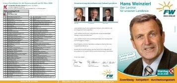 BKD ROL Kommunalwahl 2008 - Freie Wähler Landkreis Landshut