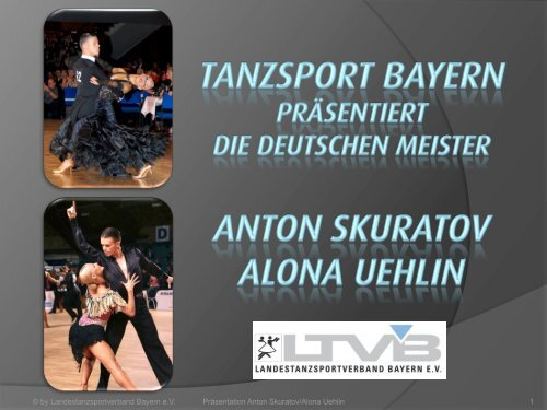 Anton Skuratov & Alona Uehlin - TTC München
