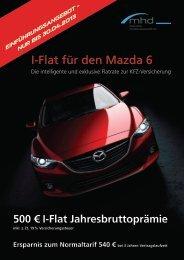 I-Flat für den Mazda 6